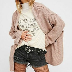Brand NEW free people low tide oversized cardigan